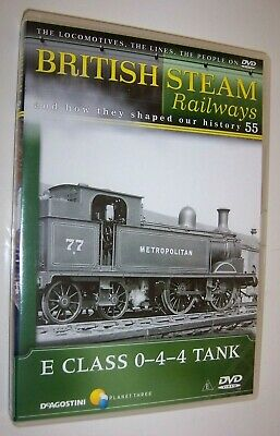 British Steam Railways DVD (No.55) The Metropolitan E Class 0-4-4 Locomotives • 1.99£