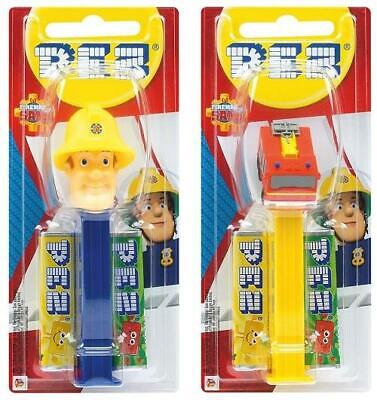 Fireman Sam Pez Dispenser MOC With Refill Sweets Various Characters • 1.70£