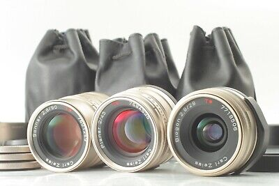 $799.99 • Buy 【MINT+3】 Contax Carl Zeiss 28mm F2.8 , 45mm F2 , 90mm F4 For G1 G2 From JAPAN