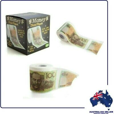 AU7.99 • Buy Australian $100 NOTE TOILET PAPER - Throw Some Cash Down The Dunny - BRAND NEW