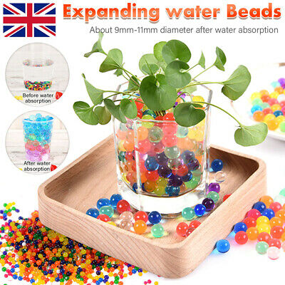 AU18.35 • Buy 10000/50000 Jelly Gel Crystal  Orbeez Water Beads Balls For Plant Vase Wedding