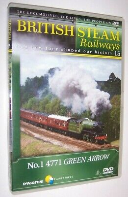 British Steam Railways DVD (No.15) Gresley LNER V2 Green Arrow 4771 Locomotive • 1.99£