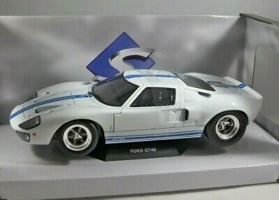 1968 FORD GT40 In White 1/18 Scale Model By SOLIDO • 54.99£