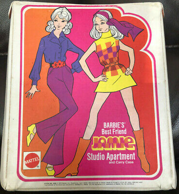 $ CDN71.94 • Buy Vintage Barbie Doll Jamie Studio Apartment Carry Case Rare 1970 Sears Mattel
