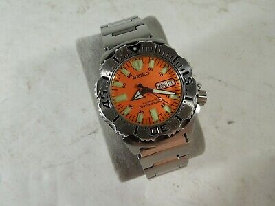 $ CDN536.17 • Buy Seiko 1st Classic Orange Monster 7S26-0350 Diver 200M Automatic 42mm Steel Watch