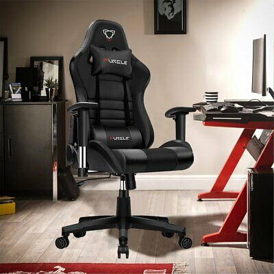 AU199.99 • Buy Racing Gaming Chair Ergonomic PU Leather Swivel Office Computer Chairs Desk Seat