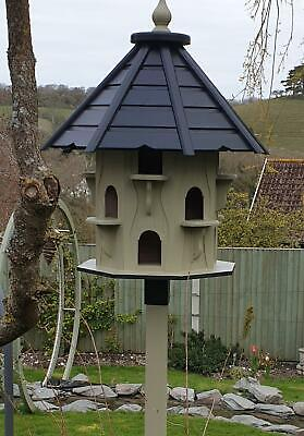 Dovecote Dovecotes Dove Cote Bird House Garden Feature In Olive Green • 600£