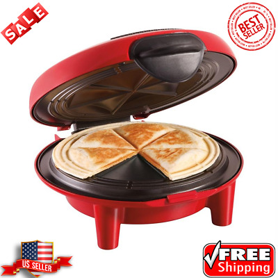 $34.99 • Buy Quesadilla Maker Hamilton Beach 6-Wedge 900 W Red Durable Kitchen Cooking Circle