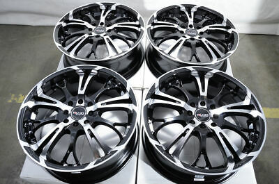$549 • Buy 17  Wheels Honda Civic Accord Corolla Aerio Scion XB XA Miata Black Rims 4 Lugs