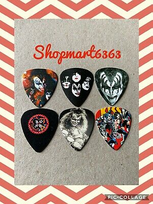 $ CDN7.95 • Buy 🎸 Lot Of 6 Limited Edition KISS 🎸 Double Printed Guitar Picks Brand New 🎸 #66