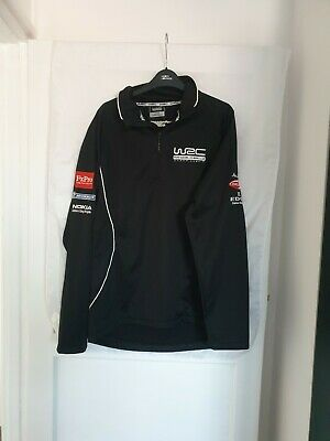 Official Wrc Fia World Rally Championship Jacket Top Performance Clothing Size M • 49.99£