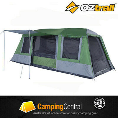 AU349 • Buy Oztrail Sportiva 9 Dome - Rrp$839 (sleeps 9) Family Camping Tent 3 Room