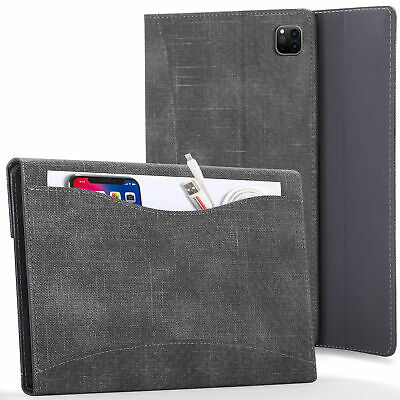 Apple IPad Pro 11 2020 Case, Smart Cover - Black + Stylus & Screen Protector • 15.99£