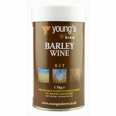 Barley Wine 24 Pint Harvest Young's Beer Making Home Brew Kit • 17.95£