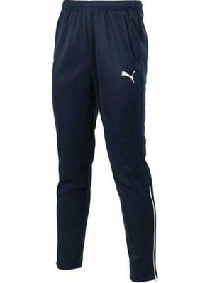 Puma Mens Tracksuit Bottoms Navy Blue Track Pant Training Pants Size Small NEW • 17.95£