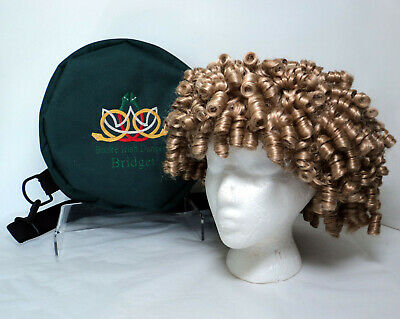 $25 • Buy Curly Blonde Irish Dance Wig W/Container & Travel Bag ~ Mint Condition
