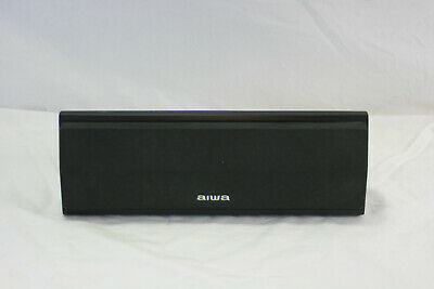 $34.99 • Buy 1 Aiwa SX-C2900 Center Speaker, 150 Watts, 8 Ohms, Charcoal Black, TESTED