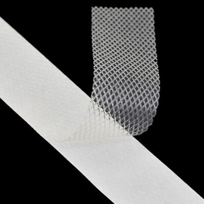 £2.99 • Buy 1PC 10M Double Sided Adhesive Tape Fusible Interlining Iron On DIY Fabric Sewing