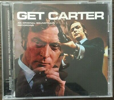 Roy Budd : Get Carter: MOTION PICTURE SOUNDTRACK CD (1998) With Notes • 6.49£