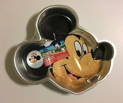 $17.50 • Buy Wilton Disney Mickey Mouse Cake Pan With Instructions New