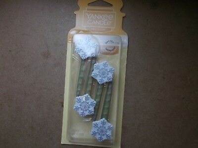 Yankee Candle Usa Christmas Cookie Car Vent Sticks Limited Edition • 4.99£