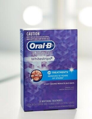 AU47 • Buy Oral B 3D White Teeth Whitening Strips 28 Treatments Sealed Lasting Results