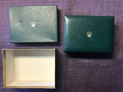 $ CDN187.96 • Buy Vintage Rolex 80's USA BUFKOR Green Box ; Watch Case For All Women's Watches