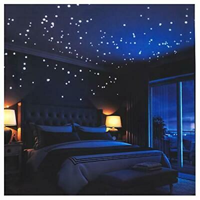 $ CDN36.09 • Buy Glow In The Dark Stars Wall Stickers,252 Adhesive Dots And Moon For Starry Sky,
