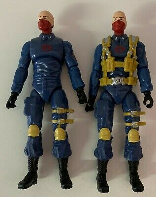 $ CDN22.40 • Buy COBRA TROOPER LOT X2 GI JOE 25th Anniversary Hasbro 3.75  Inch FIGURE No Stands