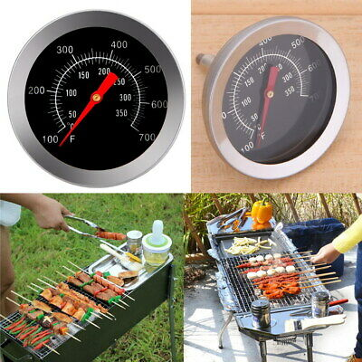 100℃~350℃ Oven BBQ Grill Meat Thermometer Outdoor Dial Temperature Gauge Cooker • 5.87£