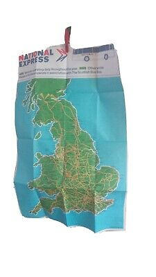 1977 National Express Network Map • 9.99£