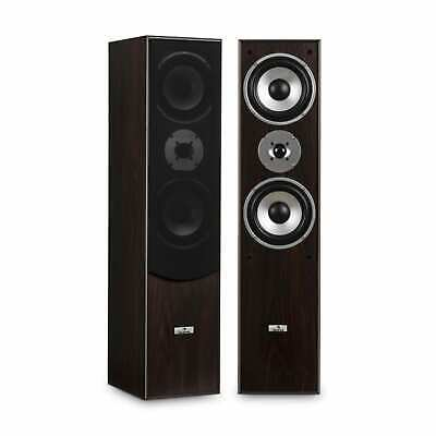 Hi Fi Speakers Pair Home Theatre System Floor Standing 350W Max 3 Way Sound • 89.99£
