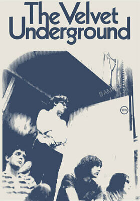 £3.99 • Buy VINTAGE POSTER The Velvet Underground MUSIC Lou Reed 60s Band Pin-up Print A3 A4