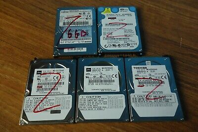$ CDN43.61 • Buy Lot Of Fujitsu / Toshiba 2.5  IDE Laptop Harddrives 6gb 10gb 40Gb 160gb