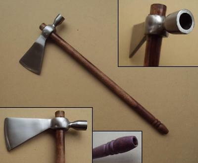 13  Hand Forged Steel Medieval Axe Great For Re-enactment Camp Fire Wood Cutting • 29£