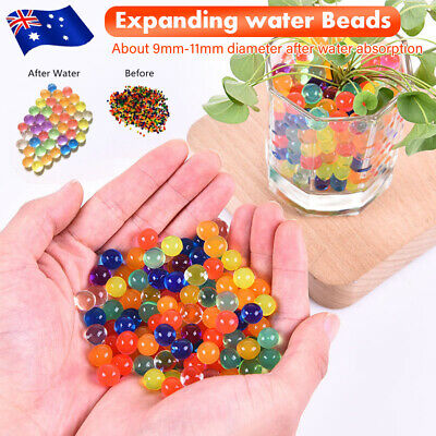 AU18.69 • Buy Orbeez Crystal Soil Water Balls Pearls Jelly Gel Beads Party Activity 9-11mm