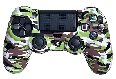 AU9.90 • Buy Silicone Cover For PS4 Controller Case Skin - White Camo
