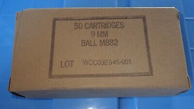 AU5 • Buy WW2 9mm Cartridge Box For Ammo Collectors MT BOX ONLY