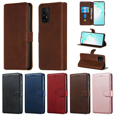 AU12.99 • Buy Magnetic Card S Lot Wallet Holder Flip PU Leather Case Skin Cover For Phone