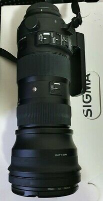AU1950 • Buy Sigma Sport 150-600mm F5-6.3 DG OS HSM Lens For CANON & USB Dock In MINT Cont.