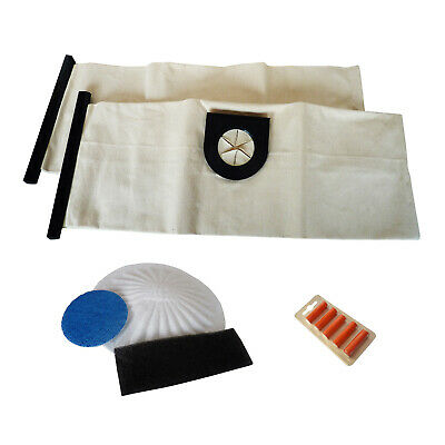 2 Cloth Reusable Washable Vacuum Cleaner Bags For VAX Filters Fresheners 6131T  • 12.95£