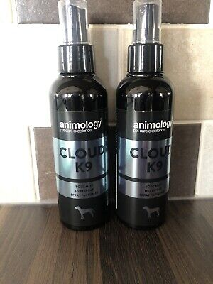 ANIMOLOGY CLOUD K9 MIST Dog Puppy Body Mist Spray X 2 • 15£