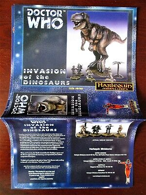 DOCTOR WHO Harlequin Miniatures Box Sleeve INVASION OF THE DINOSAURS Paper  • 19.99£