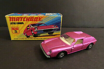 $ CDN20.64 • Buy Matchbox 75 Lotus Europa New #5 Superfast MIB 1/64 1972