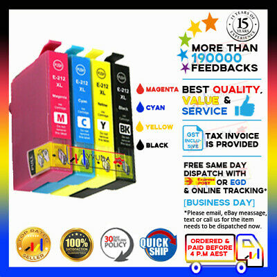AU17.95 • Buy Any NoN-OEM Ink Cartridges 212XL HY For Epson WorkForce WF-2850 WF-2810 WF-2830