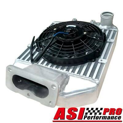 AU994 • Buy PRO 4.2L Intercooler &9 FAN For Toyota Landcruiser 80 100 105 Series 1HZ 1HDT TD