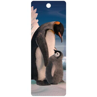 £3.15 • Buy Penguin And Son 3D Bookmark 15cm X 5.75cm With Tassel