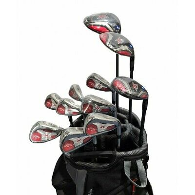 AU1499 • Buy Callaway X Series Mens Package +1  Length - Steel Shaft - Right Hand - Black Bag