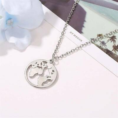 AU6.86 • Buy Temperament Beauty Jewelry For Women 1Pc Small Europe And America World Map LL