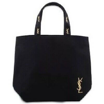 AU49.90 • Buy YSL Yves Saint Laurent Black Canvas Vip Gift Parfums Tote Shopping Bag